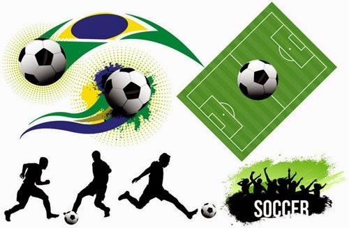 Soccer Vector Elements Set