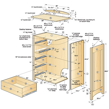 Woodworking free plans dresser woodworking plans for Wood plans online