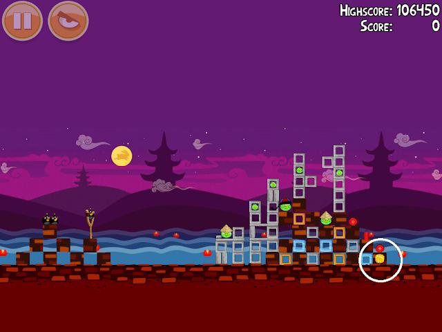 Angry Birds Seasons: Mooncake Festival 1-2