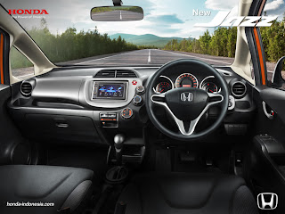 Foto Interior New Honda Jazz 2013