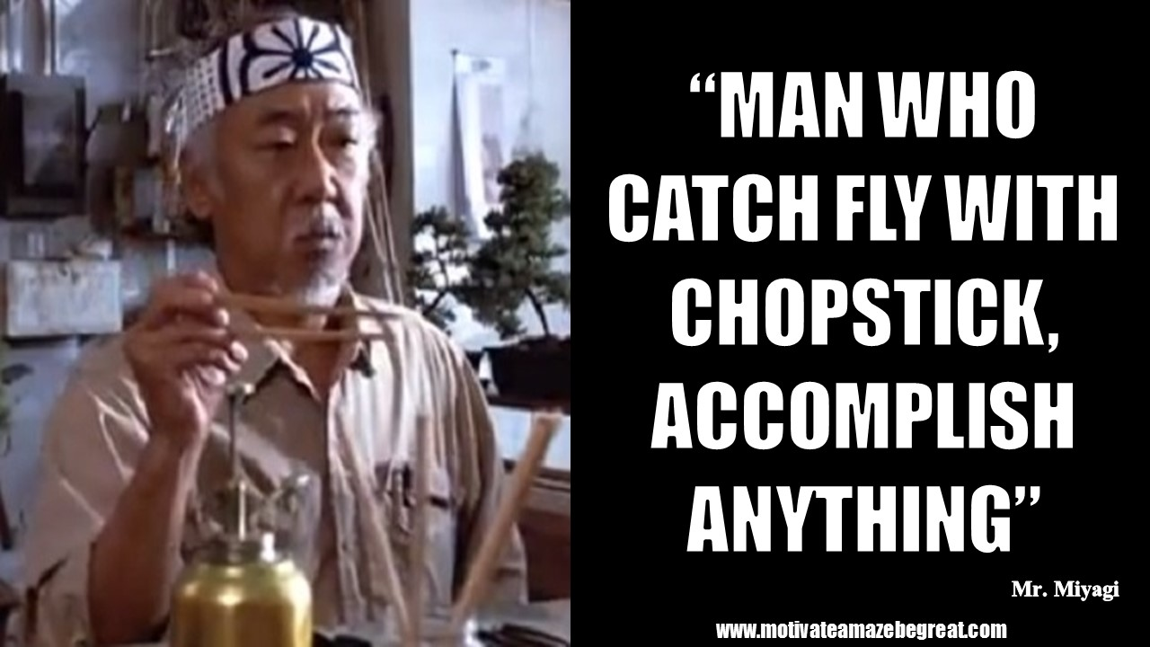 pics for karate kid quotes