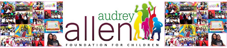 AUDREY ALLEN FOUNDATION FOR  CHILDREN BLOG