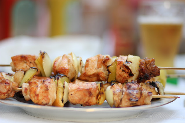 Chicken Kebabs – Romanian style