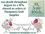 Thompson's Craft Supplies 10% off