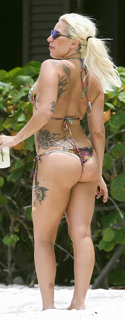 Lady gaga hot in thong, jenny scordamaglia full nude