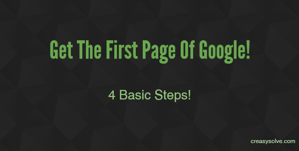 how to get your website to appear on google