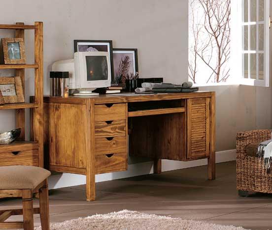 La web de la decoracion y el mueble en la red escritorios for Escritorios rusticos para oficina
