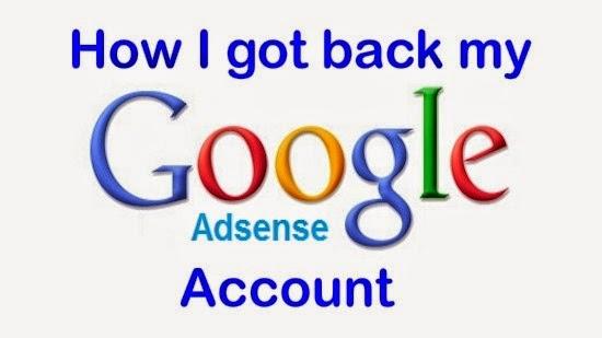 Google Adsense di Disabled