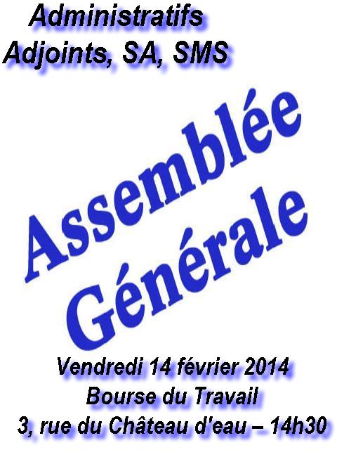 Le syndicat cgt des personnels du centre d 39 action sociale - Grille indiciaire adjoint administratif 2014 ...