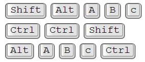 Efek Keyboard pada tulisan di artikel blog