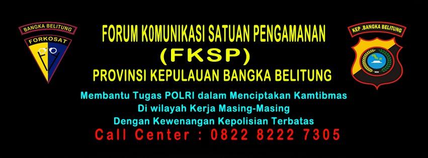 FORUM KOMUNIKASI SATPAM  ( FKSP ) BANGKA BELITUNG