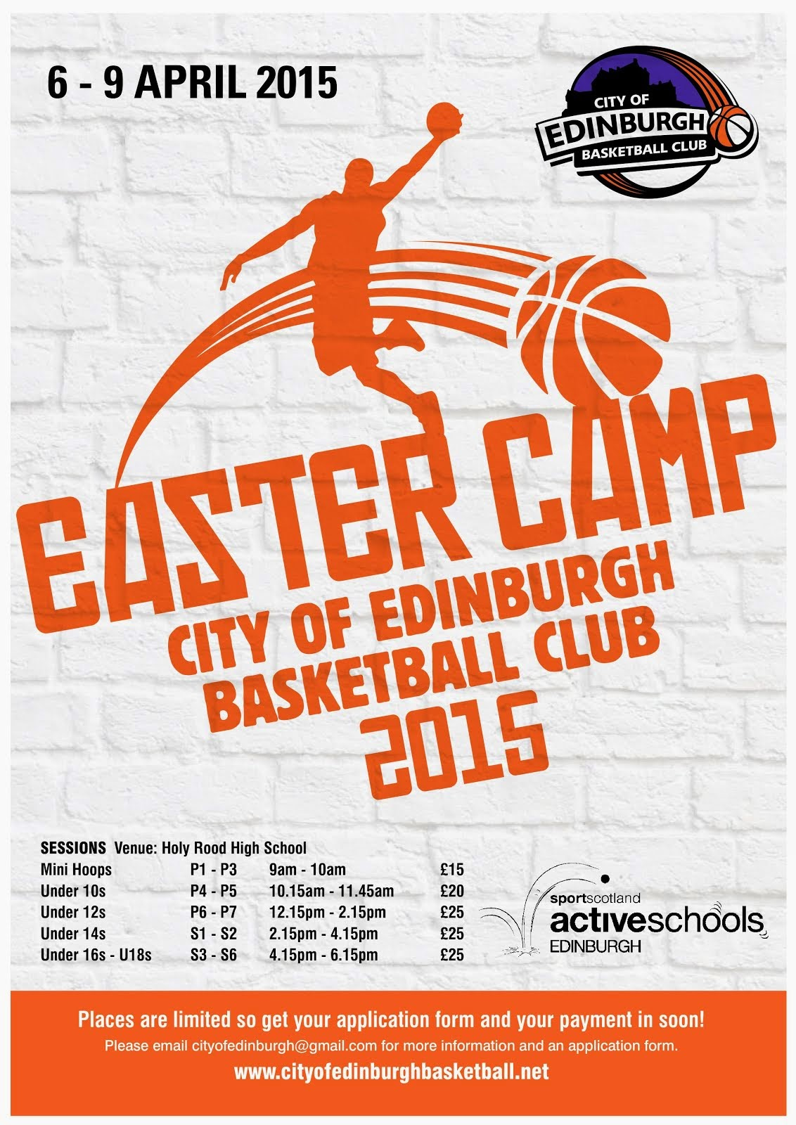 City Hoops Easter Camp 2015