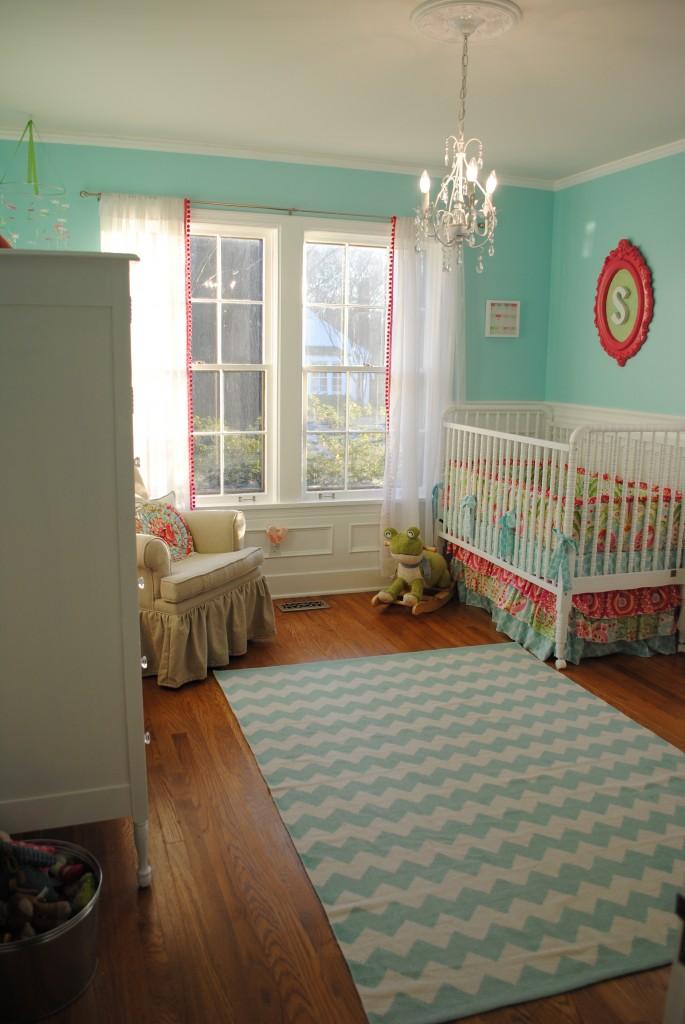 chevron pattern in kids rooms design dazzle