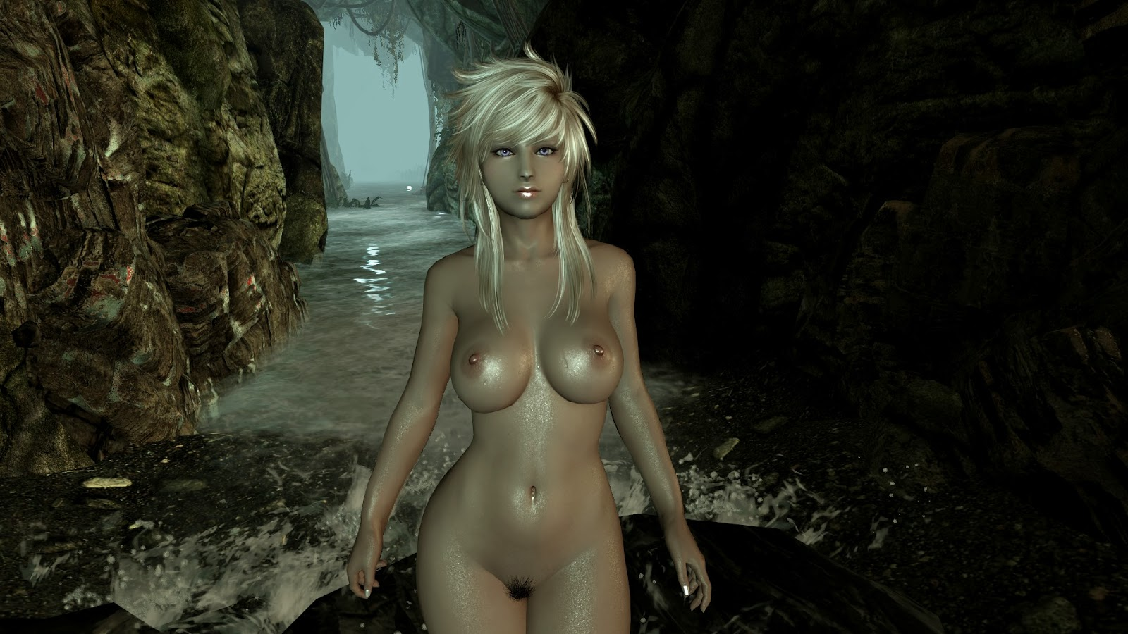 Skyrim female nudes porn pretty daughter