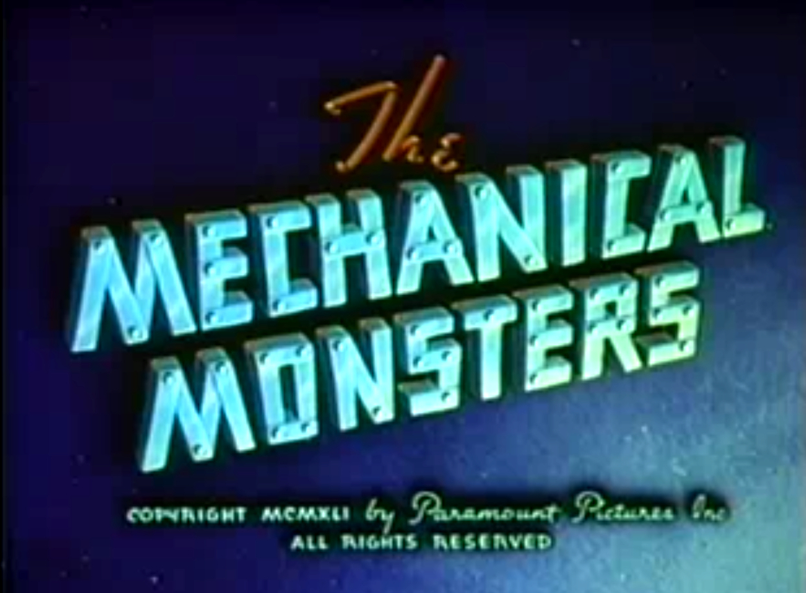 Superman The Mechanical Monsters