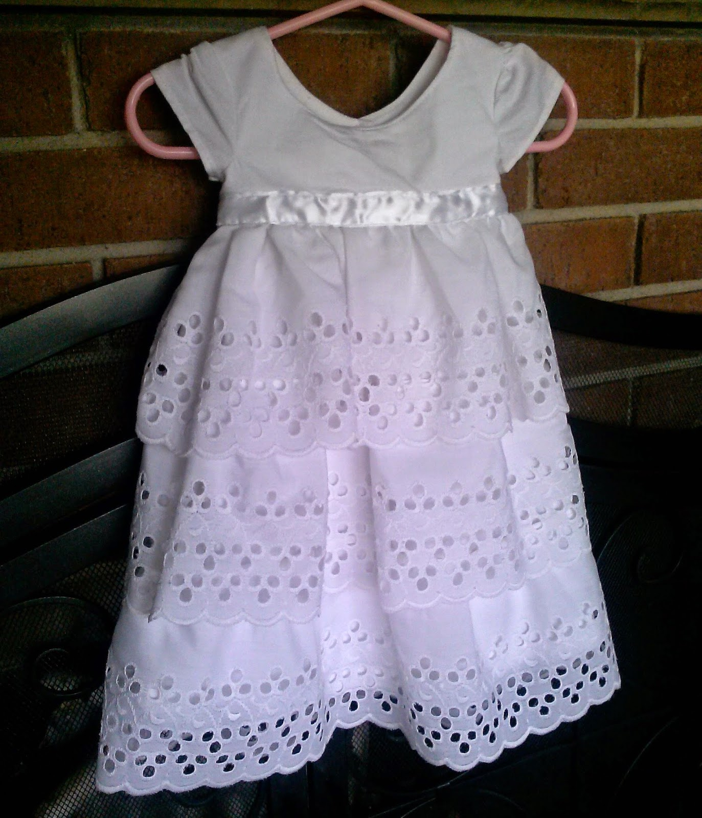 Baptism Dress - Lina and Vi