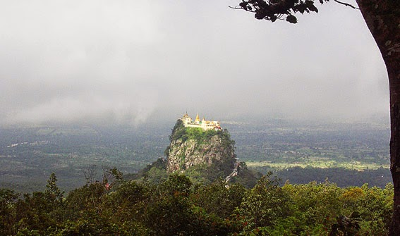 Mount Popa abode of the nats