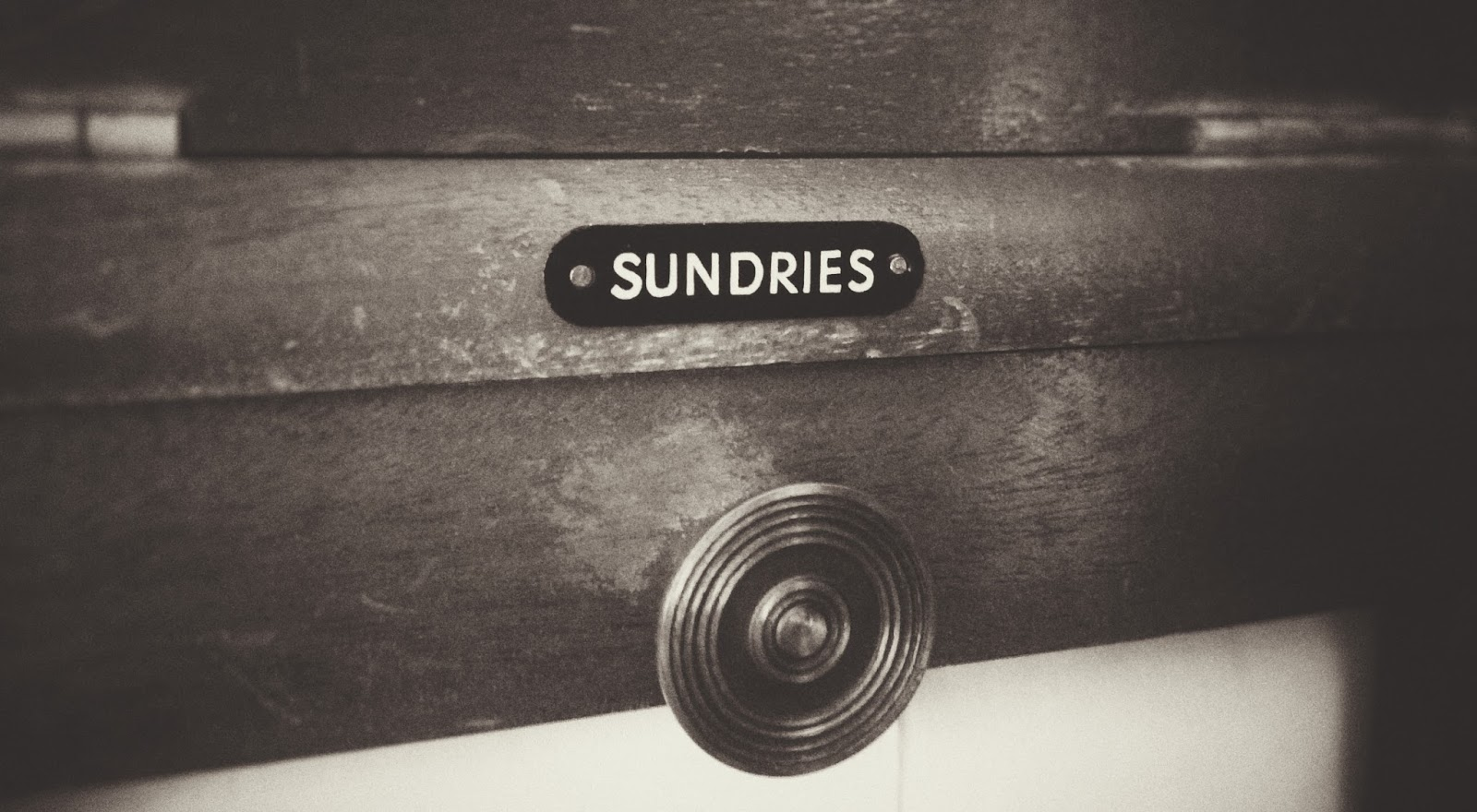 Sundries from the Gentleman's Wardrobe