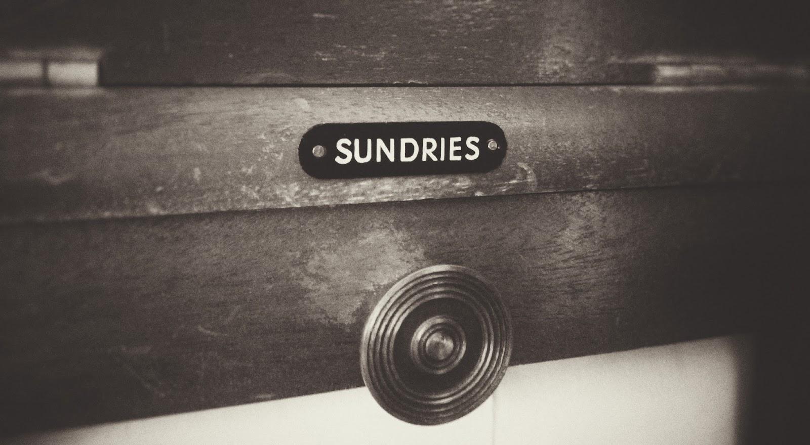 Sundries from the Gentleman's Wardrobe