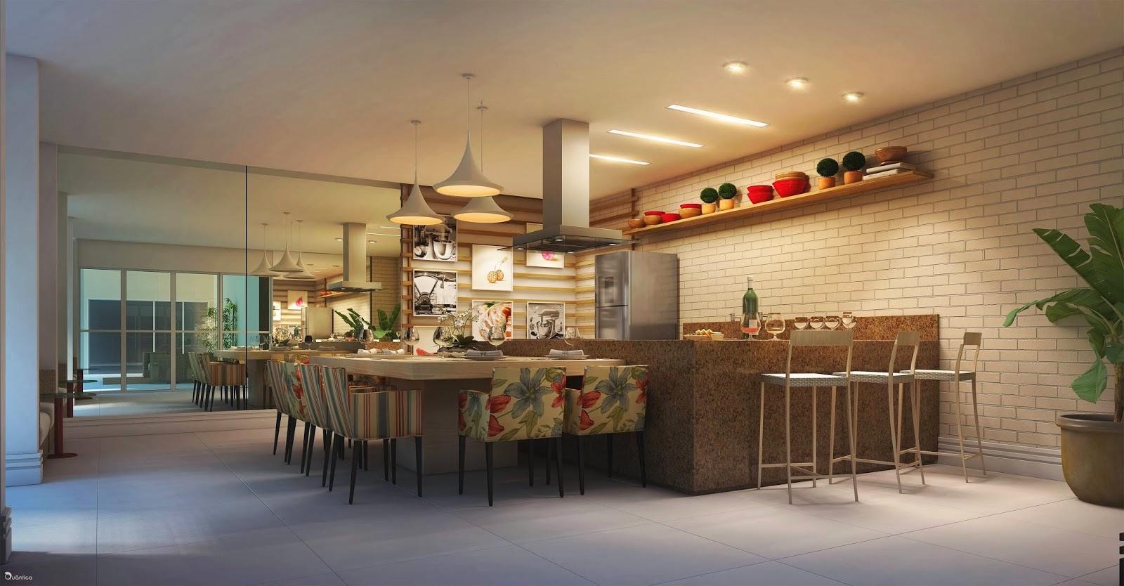 verano residencial - espaço gourmet