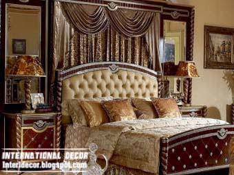 Luxury Bedroom Designs Ideas With Sophisticated Drapery 2014
