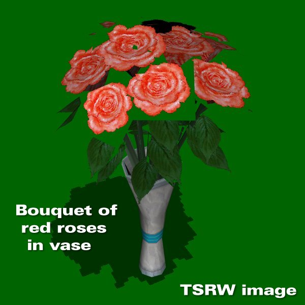Bouquet of red roses cost