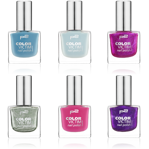 p2 color victim nail polish