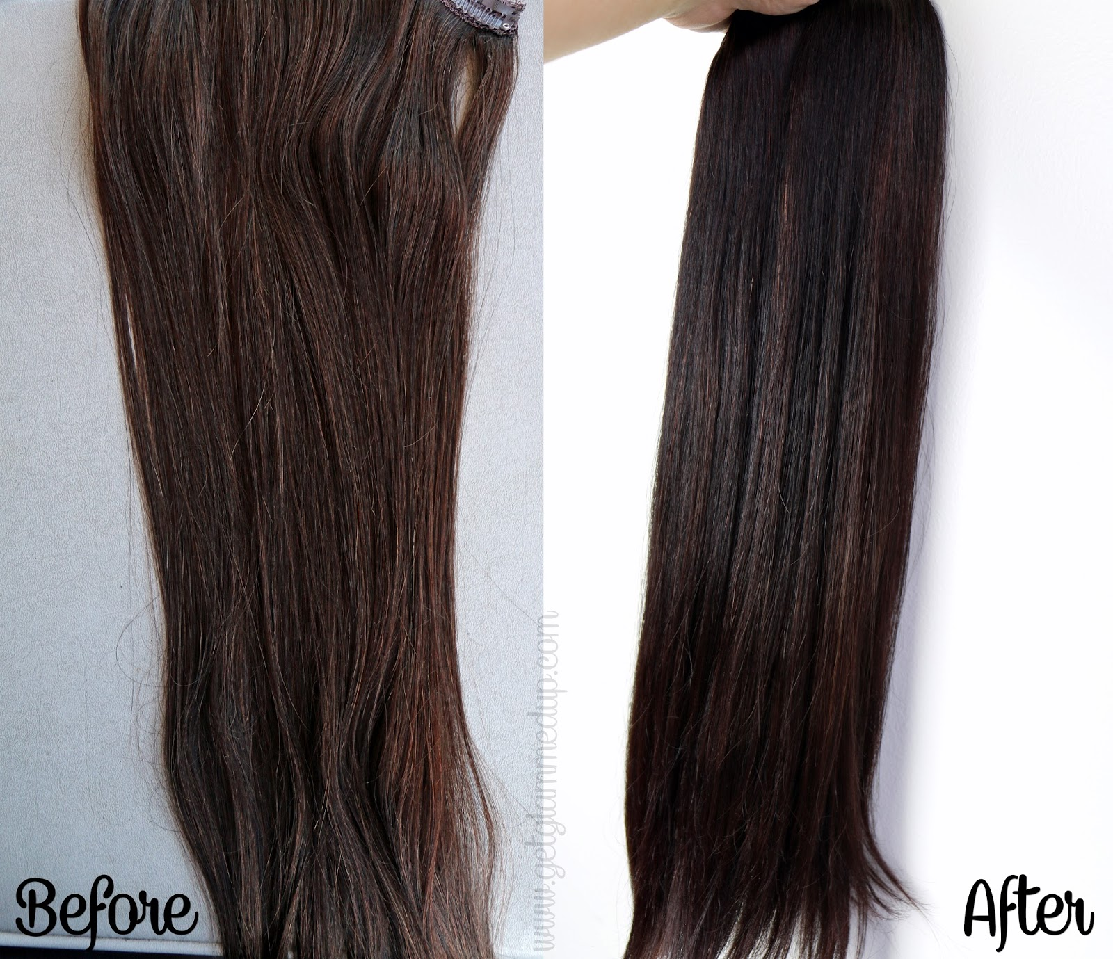 Video my fantasy hair review how to care for and clip in hair before and after coloring my fantasy hair extensions in dark chocolate pmusecretfo Gallery