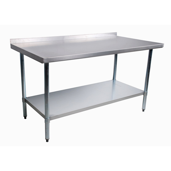 Stainless Prep Table With Sink : Stainless steel prep table