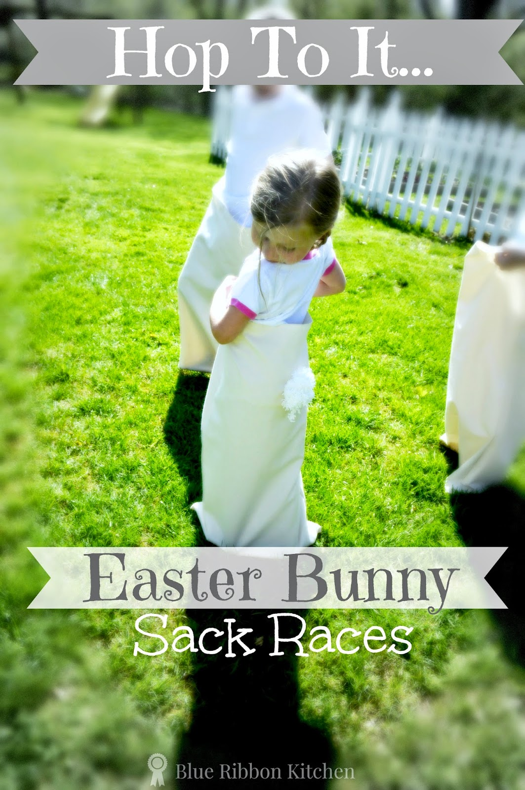 Blue Ribbon Kitchen Hop To It Easter Bunny Sack Races