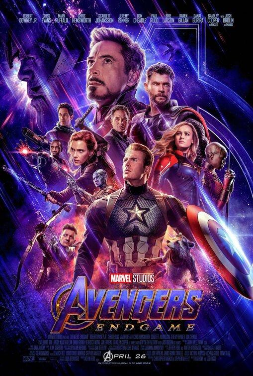 Recent releases: Avengers: Endgame (2019)