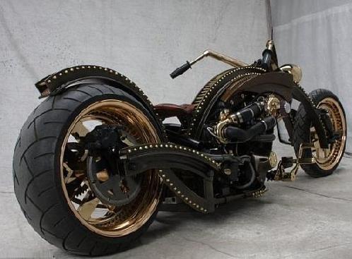 Modifikasi Sepeda Motor Aneh, Unik, Kocak, Gokil dan keren di Dunia