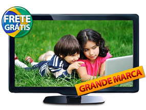 "tv Ctis Digital: TV LCD 40"" Full HD c/ conversor Digital por R$ 1.499,00 ou 12X de R$ 124,92"