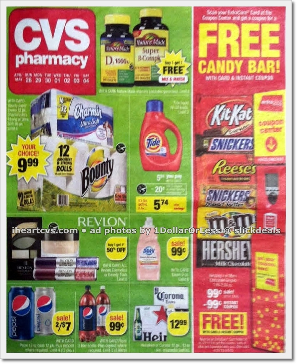 weekly ad scan  cvs ad scan  week of 4  28 4