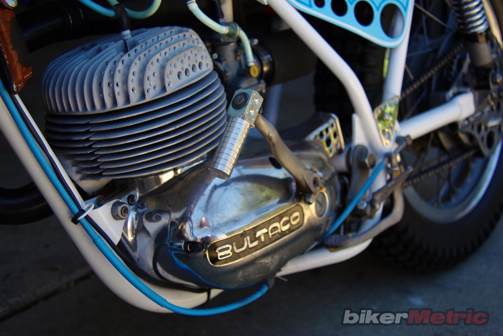 1960's bultaco matador 250 tracker - motor- detail | busch & busch