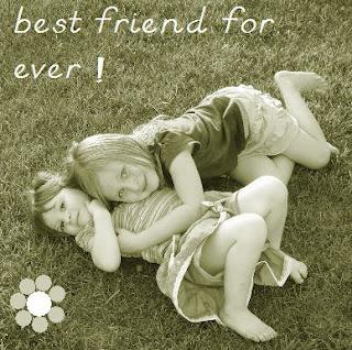 Mejores amigas por siempre en ingles