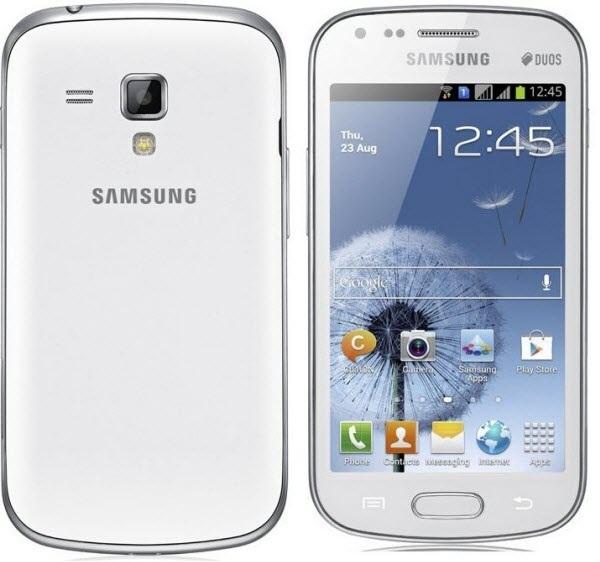 مواصفت وأسعار ومميزات وعيوب هاتف سامسونج جالكسى أس ديوس الابيض Samsung S7562 Galaxy S Dous - White