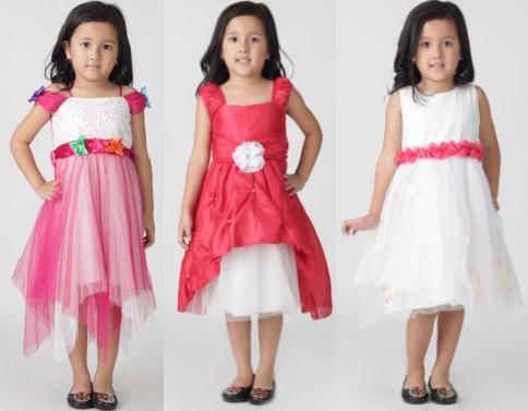 Baju Batik Anak Kecil Perempuan Baju Pesta Anak Perempuan New