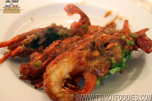 market cafe buffet lobsters