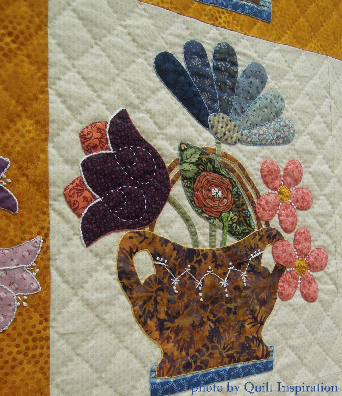 Quilt inspiration fancy folk art quilts