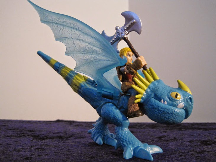 Dragon Riders Astrid and Stormfly.