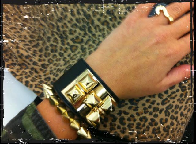 Bracelet Gina Tricot, leopard print slim pant gina tricot, Gina Tricot ring