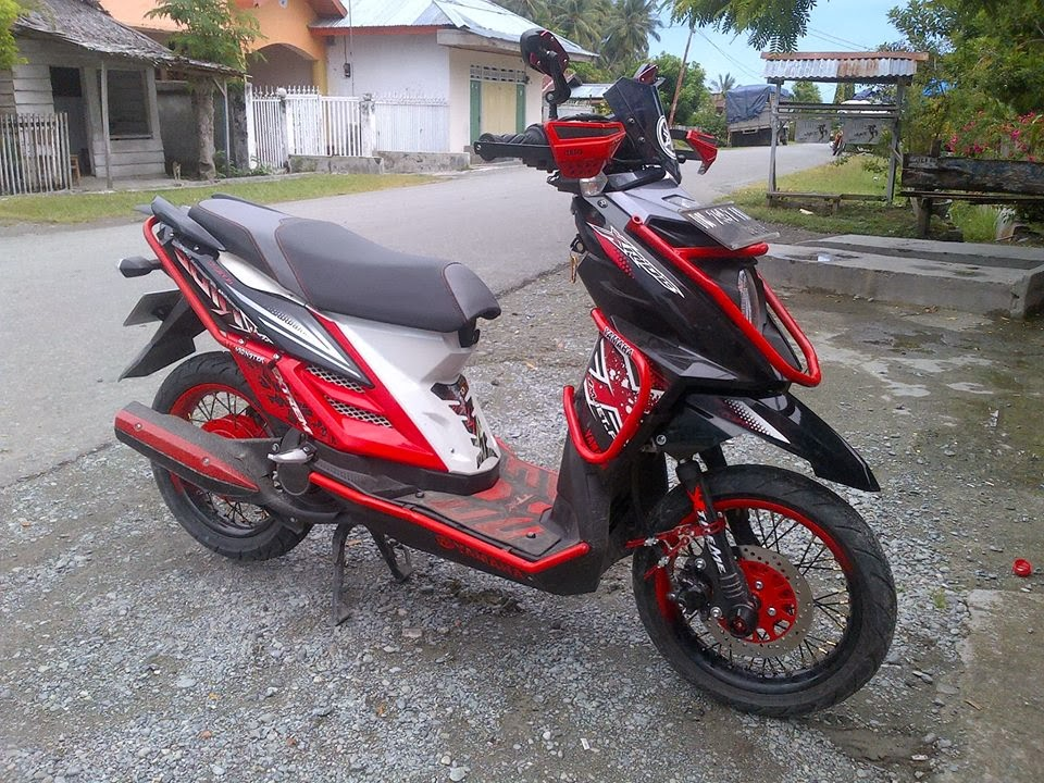 modifikasi x ride