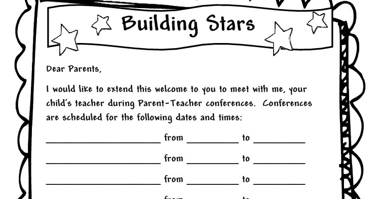 Learning and teaching with preschoolers parent teacher conferences thecheapjerseys Image collections