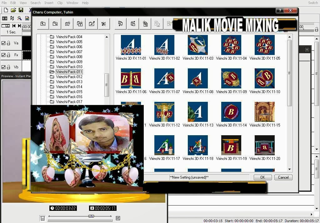 Virinchi Fx Malik Movie Mixing