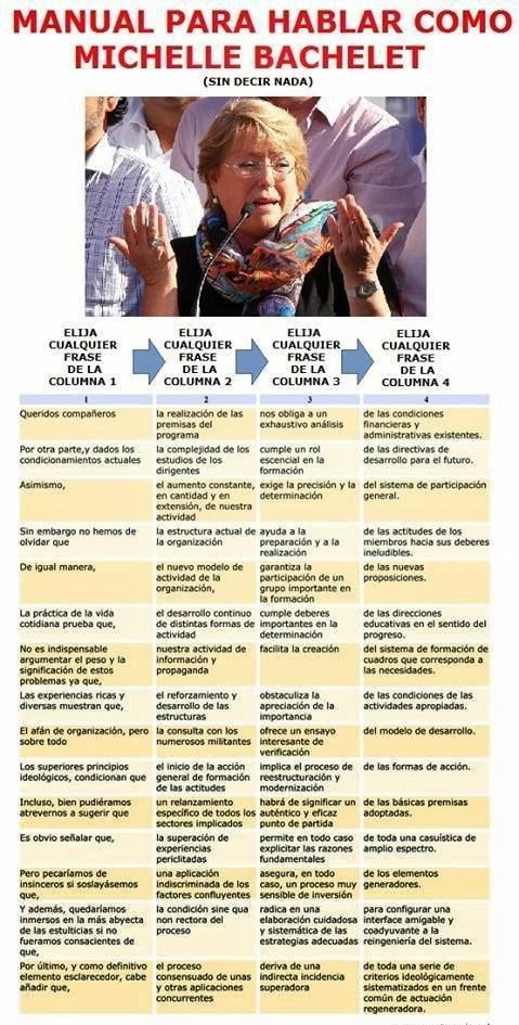 Bachelet y sus Bachelicosas ZZC