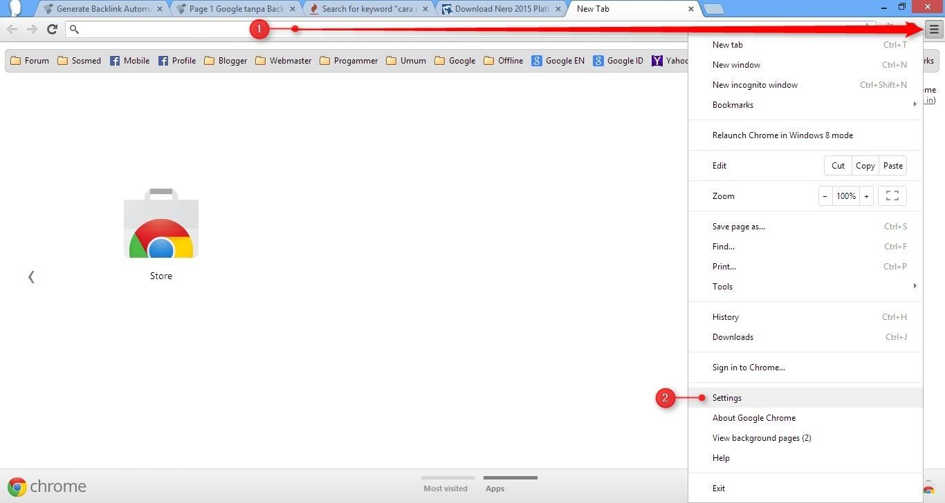 Trik yang akan saya berikan ini sebenarnya bukan hanya untuk membuka  Cara Membuka 2 Akun Facebook Dalam 1 Browser