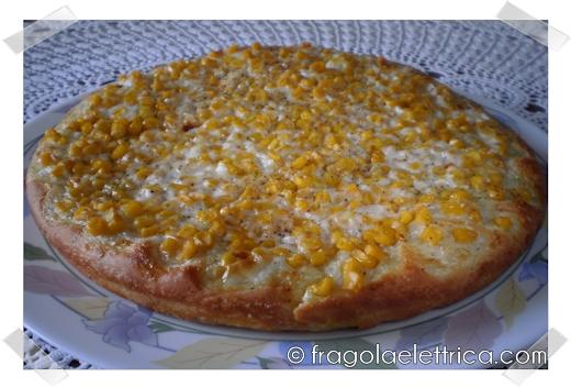Pizza Panna e Mais