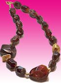 Chocolate Brown Agate Necklace