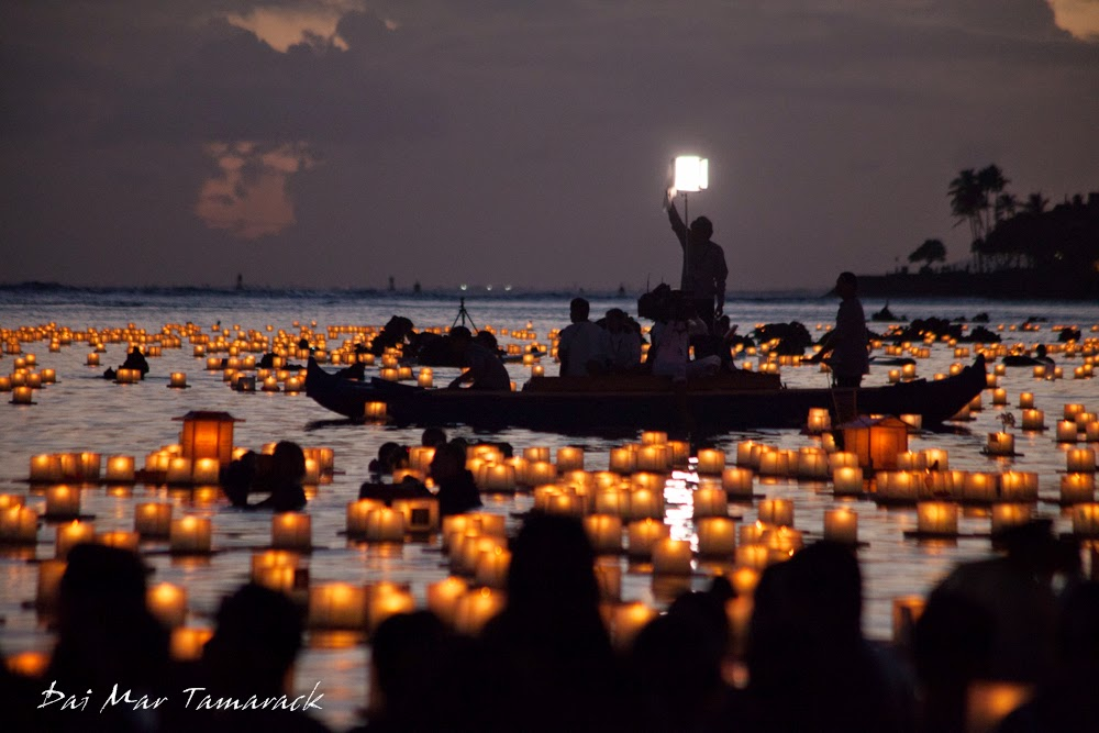 capturing the moment lantern floating festival honolulu hawaii